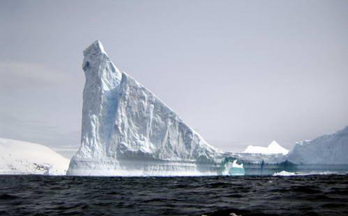 גושי קרח ענקיים, אנטארקטיקה