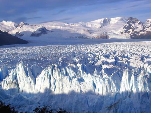 קרחון פריטו מורנו, הקרחון המתנפץ, פטגוניה, ארגנטינה