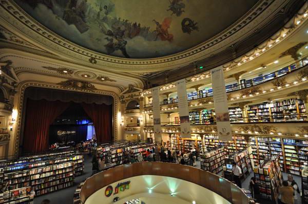 חנות הספרים הענקית, בואנוס איירס בירת ארגנטינה