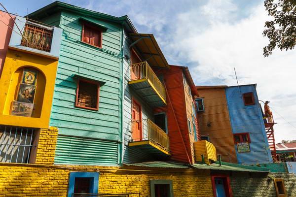 שכונת לה בוקה, בואנוס איירס בירת ארגנטינה