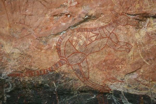 שמורת קאקדו, ציורי סלע
