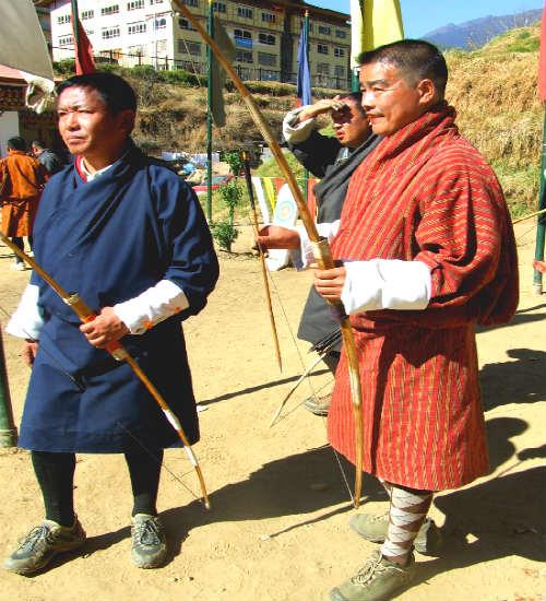 לבוש מסורתי בבהוטן