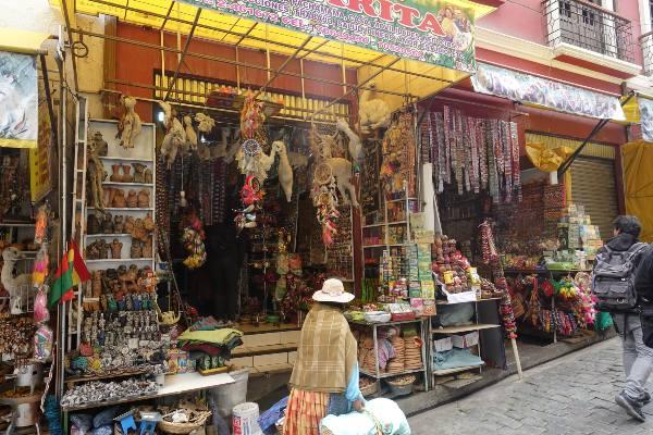 שוק המכשפות בלה פאס, בוליביה