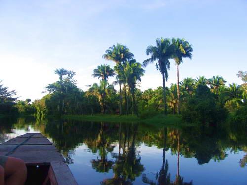 שייט בביצות הפאמפאס בבוליביה