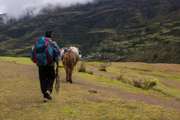 העיירה סוראטה בבוליביה