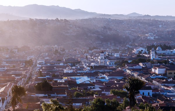 העיר סוקרה, הבירה הרשמית של בוליביה