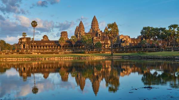 מקדשי אנגקור, קמבודיה