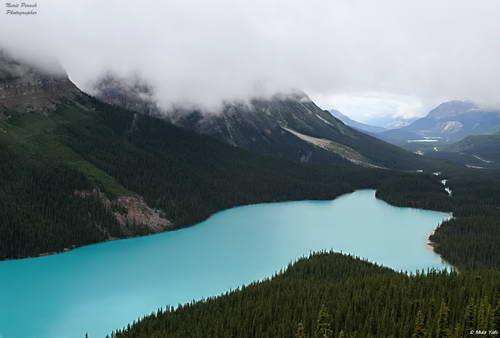אגם פייטו, כביש הקרחונים, הרוקיס הקנדיים