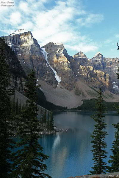 שמורות הרוקיס הקנדיים, אגם מוריין , באנף