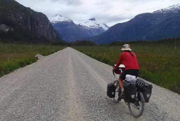 אופניים בקרטרה אוסטרל, צ'ילה