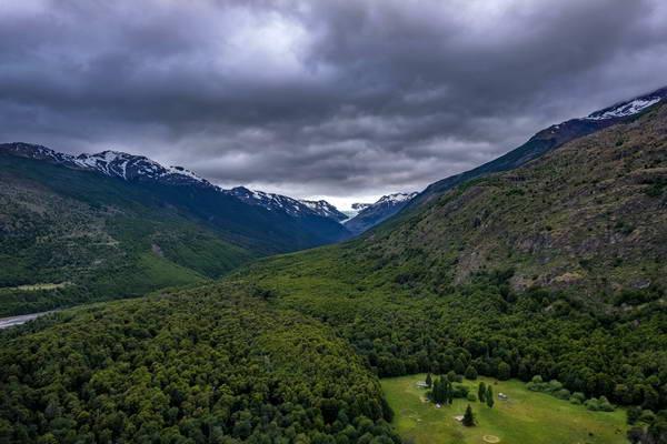 קרחון מוסקו, וילה אוהיגנס, קרטרה אוסטרל, צ'ילה