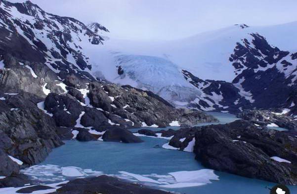 קרחון טייגר, קרטרה אוסטרל, צ'ילה
