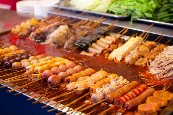 אוכל רחוב סיני