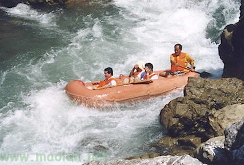 רפטינג בנהר שוי-צ'ון