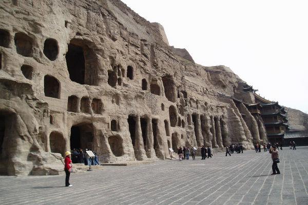 טיול בסין, מערות יוגנג
