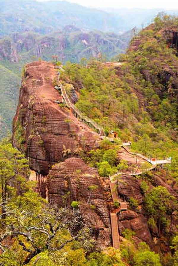 הר הצבים, לימינג, שמורת לאוג'ון, חבל יונאן, דרום סין