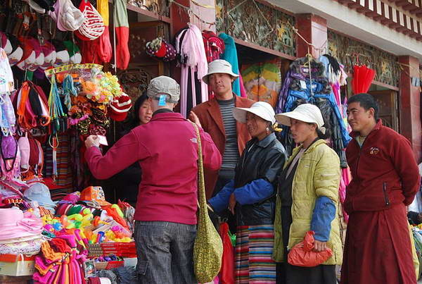 טיבט, מערב סין