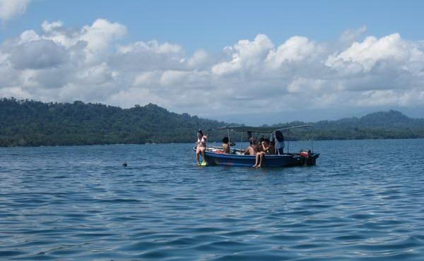 צלילה ושנירקול בשמורת קאוויטה, חופי הים הקריבי, קוסטה ריקה