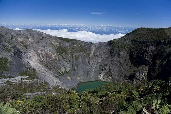 לוע הר הגעש אירזו