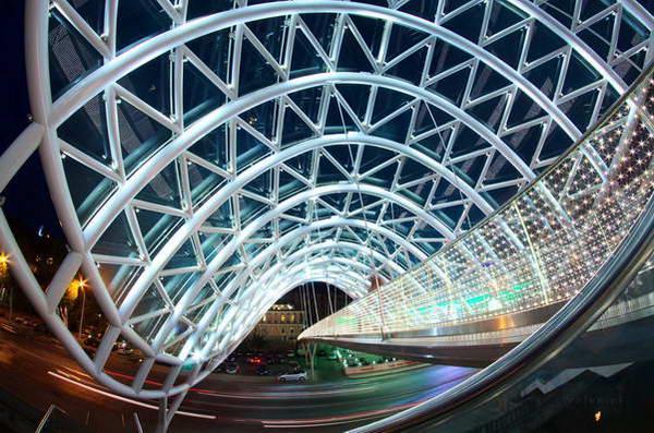 גשר השלום, טביליסי, גאורגיה