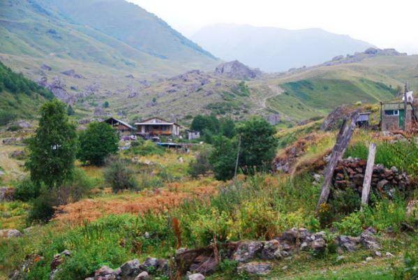 טיול הליכה בגאורגיה