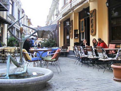 רחוב שרדן בטביליסי, גאורגיה