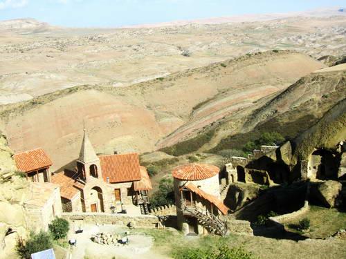 מנזר גארג'ה, גאורגיה