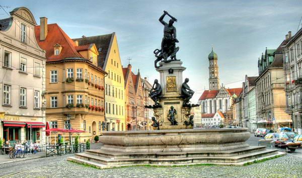 העיר אוגוסבורג, גרמניה