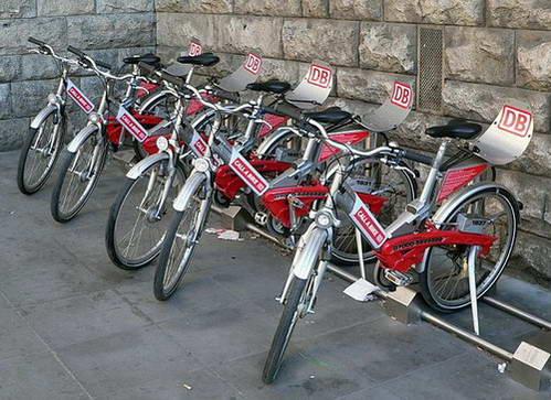 אופניים להשכרה בגרמניה