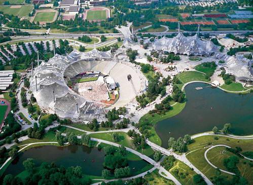 הכפר האולימפי שאירח את אולימפיאדת 1972, מינכן