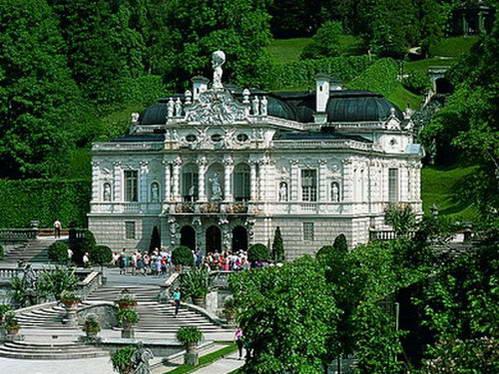 ארמון לינדרהוף, לודוויג השני חלם על ארמון ורסאי