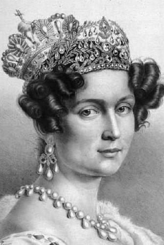 אשתו של לודוויג הראשון תרזה, בוואריה