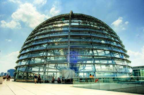 בניין הרייכסטאג בברלין, גרמניה