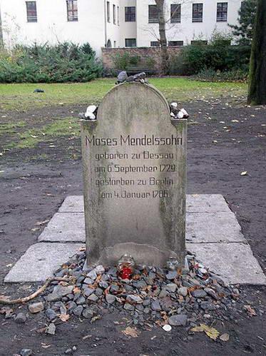 קברו של משה מנדלסון בברלין