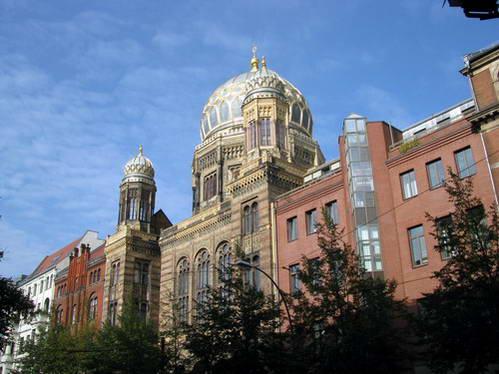 כיפות הזהב של בית הכנסת החדש של ברלין