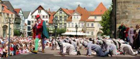 הצגת החלילן מהמלין בהמלין, גרמניה