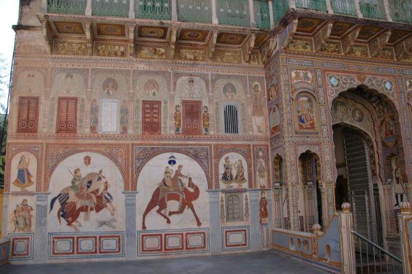 ציורי קיר בהודו