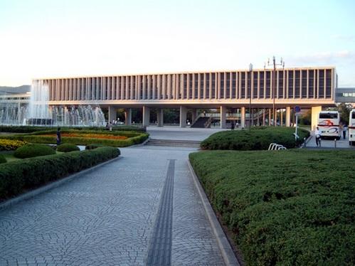 קנזו טאנגה, מוזיאון השלום בהירושימ
