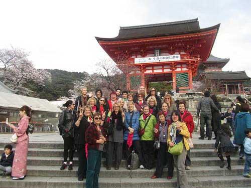 יפן, פריחת הדובדבן, קיוטו