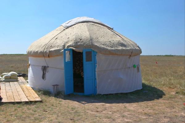 יורט - אוהל קזחי