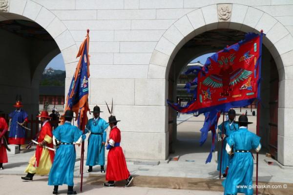 קוריאה, טיול בסיאול - חילופי משמר מלכותיים