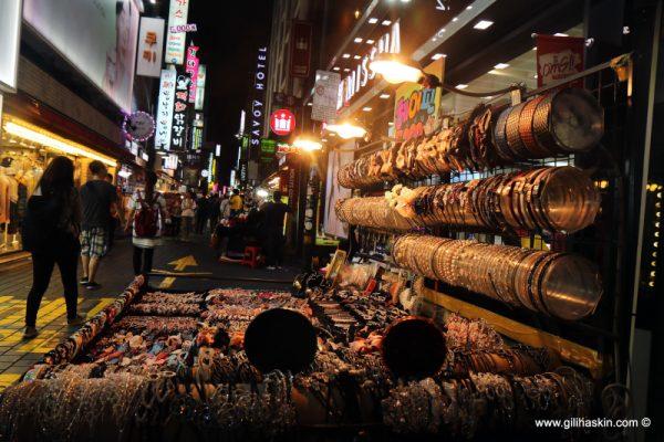 סיור בשווקים של סיאול, דר' קוריאה