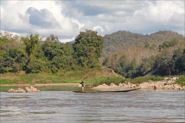 נהר המקונג, לאוס