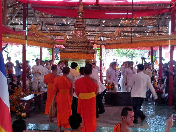 לאוס, לואנג פרבאנג, חגיגות השנה החדשה
