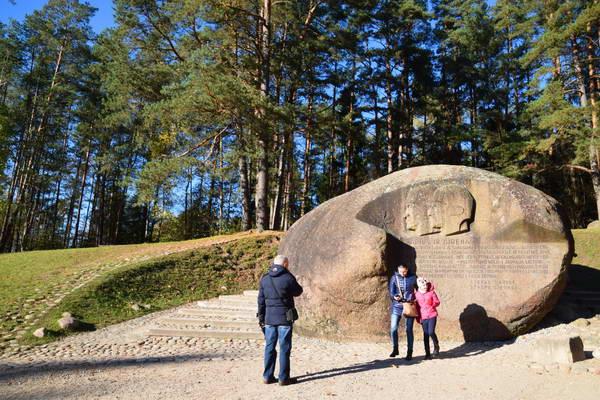 סלע פונטוקאס, אניקשי, ליטא