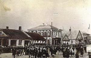 יהודים בעיירה אניקשי, ליטא