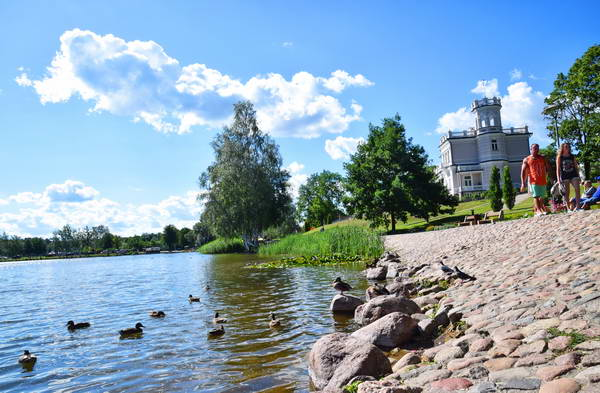 אגם במרכז דרוסקונינקי, ליטא
