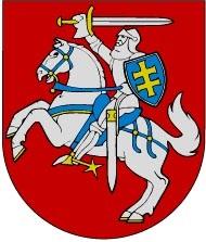 סמלה הרשמי של ליטא: 'האביר' (Vytis), שהתנוסס על דגלה של הדוכסות הגדולה של ליטא
