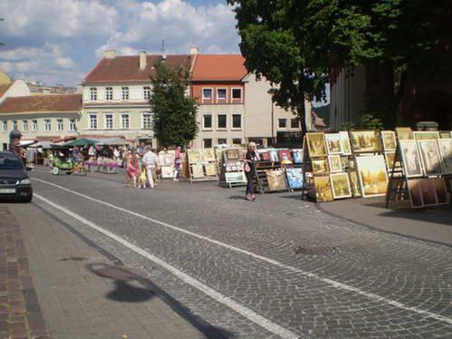 שוק האומנים ברחוב פיליוס