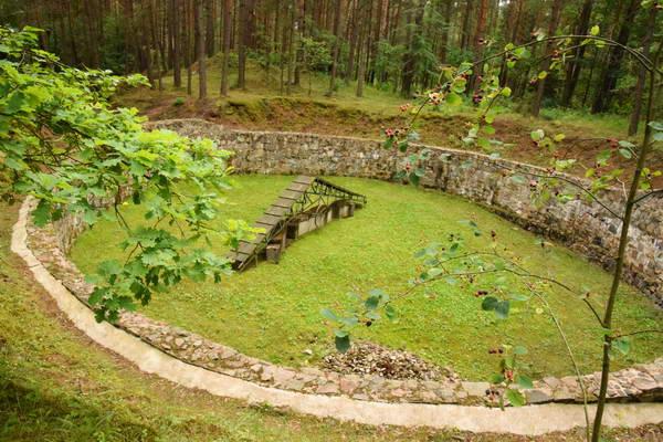 גיא ההריגה פונאר, בפרבר של וילנה בירת ליטא